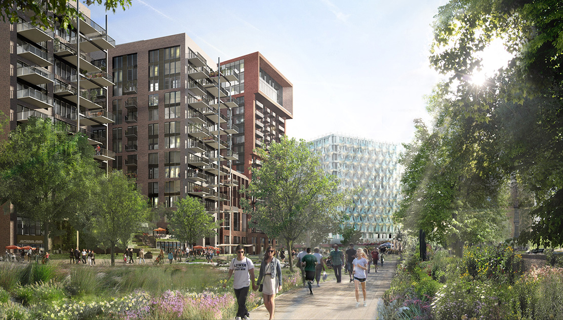 Embassy Gardens in Nine Elms (© Nine Elms London)