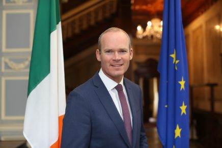 Simon Coveney TD, Deputy Head of the Government and Minister of Foreign Affairs and Trade, to speak at Congress
